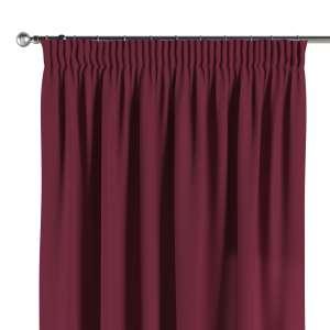 Vorhang mit Kräuselband 130 x 260 cm von der Kollektion Cotton Panama, Stoff: 702-32