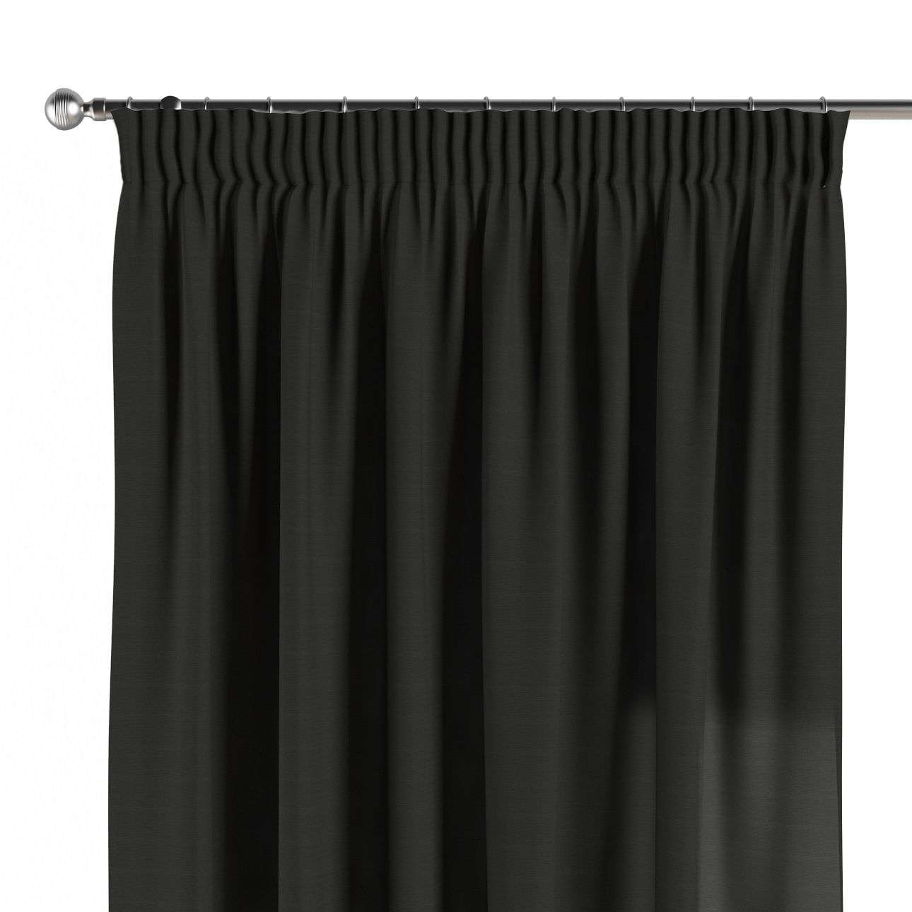 Pencil pleat curtains 130 × 260 cm (51 × 102 inch) in collection Jupiter, fabric: 127-99