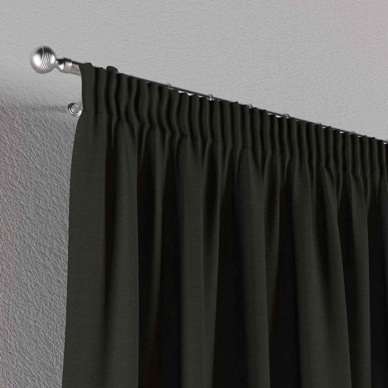 Vorhang mit Kräuselband 130 x 260 cm von der Kollektion Jupiter, Stoff: 127-99