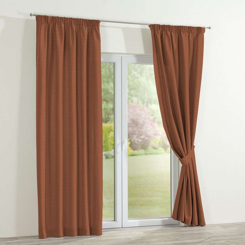 Pencil pleat curtains in collection SALE, fabric: 130-08