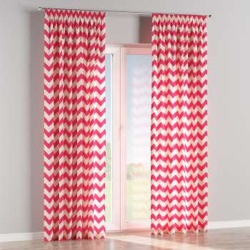 Pencil pleat curtains 130 × 260 cm (51 × 102 inch) in collection Comics/Geometrical, fabric: 135-00