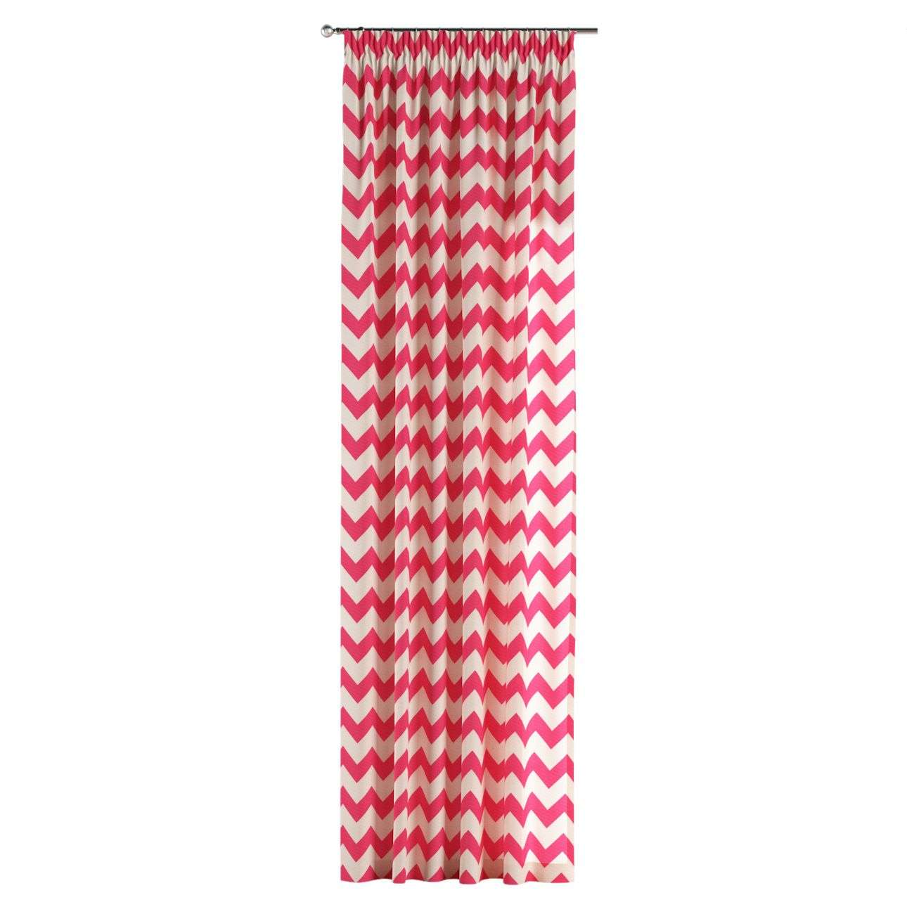 Pencil pleat curtains 130 x 260 cm (51 x 102 inch) in collection Comic Book & Geo Prints, fabric: 135-00