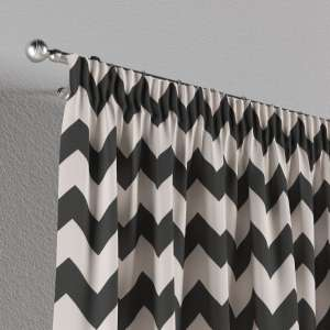 Pencil pleat curtains 130 x 260 cm (51 x 102 inch) in collection Comic Book & Geo Prints, fabric: 135-02