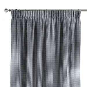 Vorhang mit Kräuselband 130 x 260 cm von der Kollektion Quadro, Stoff: 136-00