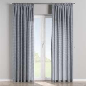 Függöny ráncolóval 130 x 260 cm a kollekcióból Lakástextil Quadro, Dekoranyag: 136-00
