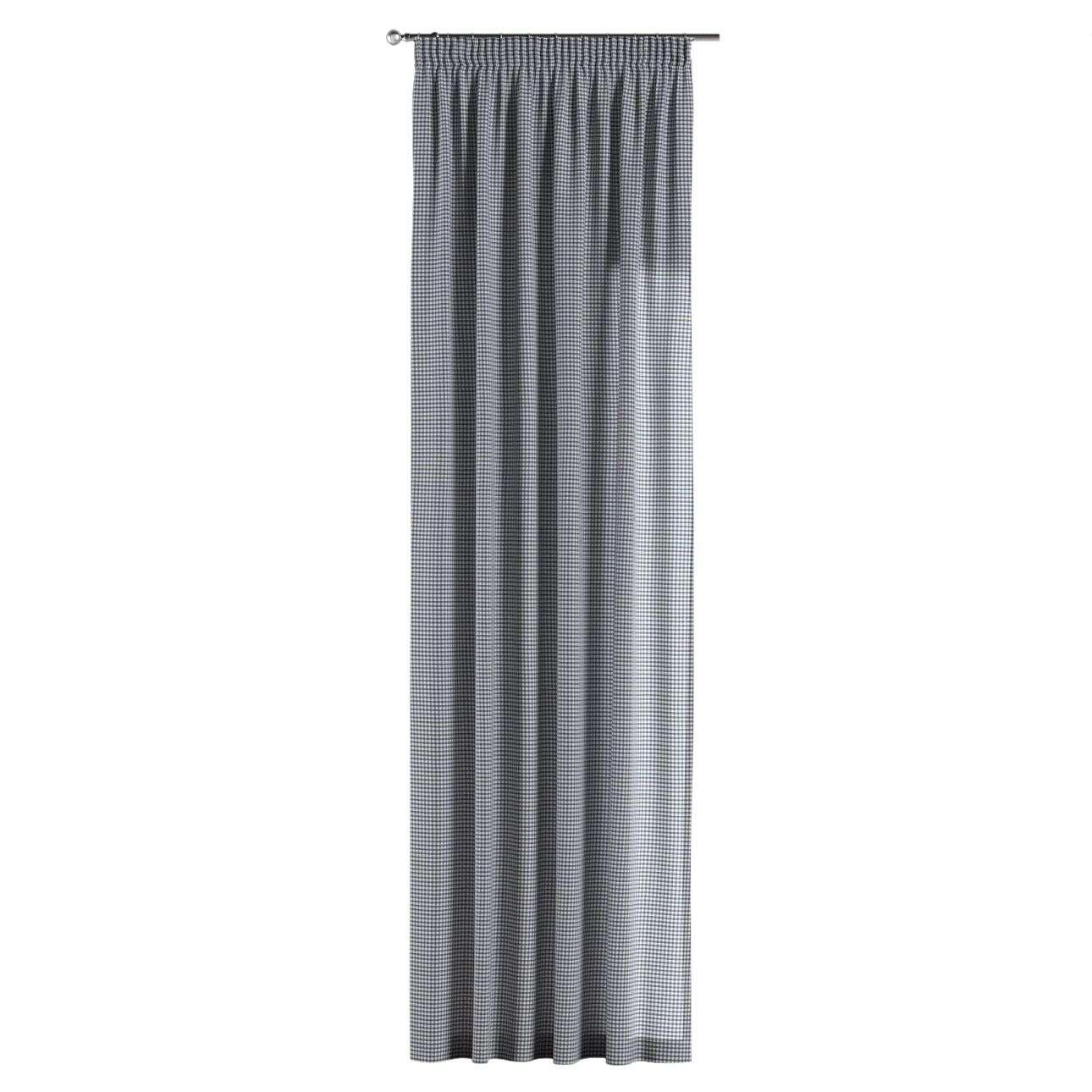 Záves na riasiacej páske 130 x 260 cm V kolekcii Quadro, tkanina: 136-00
