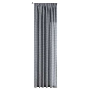 Zasłona na taśmie marszczącej 1 szt. 1szt 130x260 cm w kolekcji Quadro, tkanina: 136-00