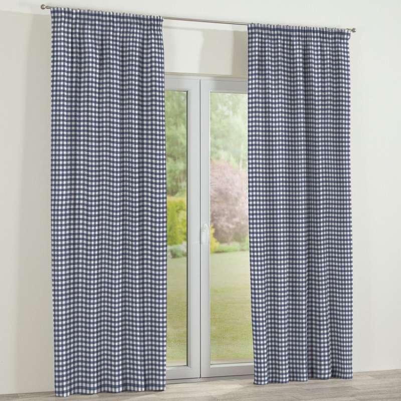 Függöny ráncolóval a kollekcióból Quadro Lakástextil, Dekoranyag: 136-01