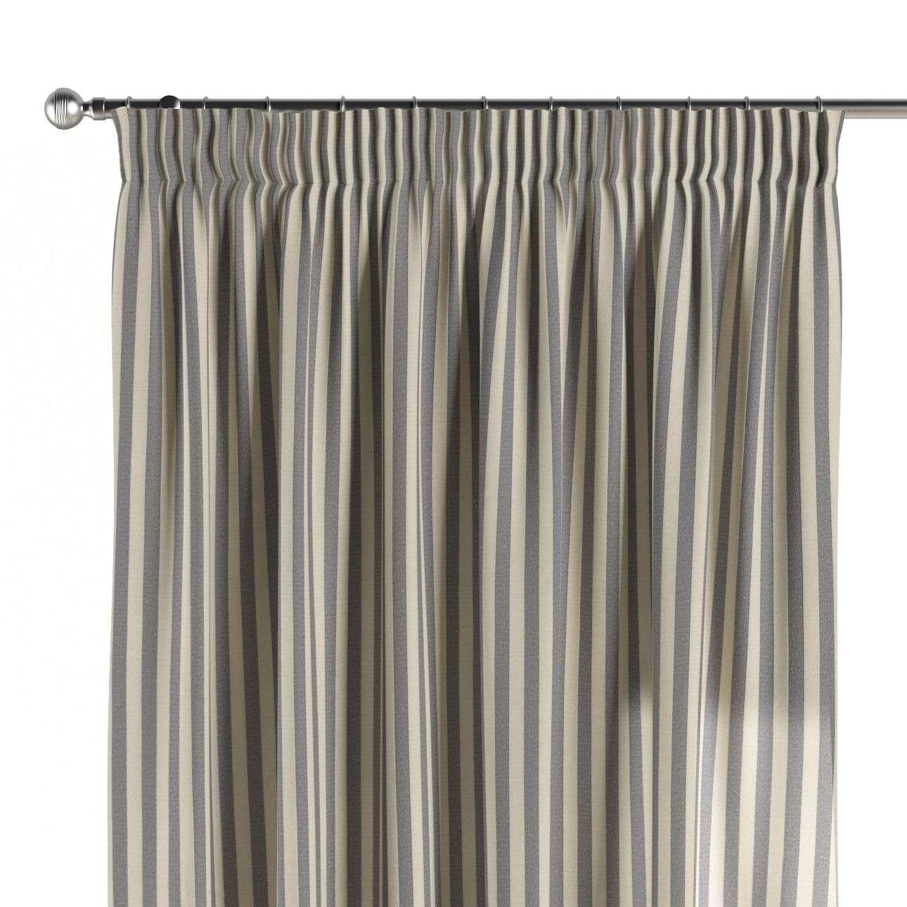 Pieštukinio klostavimo užuolaidos 130 x 260 cm (plotis x ilgis) kolekcijoje Quadro, audinys: 136-02