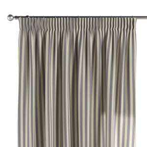 Zasłona na taśmie marszczącej 1 szt. 1szt 130x260 cm w kolekcji Quadro, tkanina: 136-02