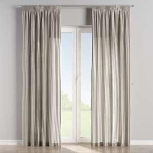 Vorhang mit Kräuselband 130 x 260 cm von der Kollektion Quadro, Stoff: 136-02