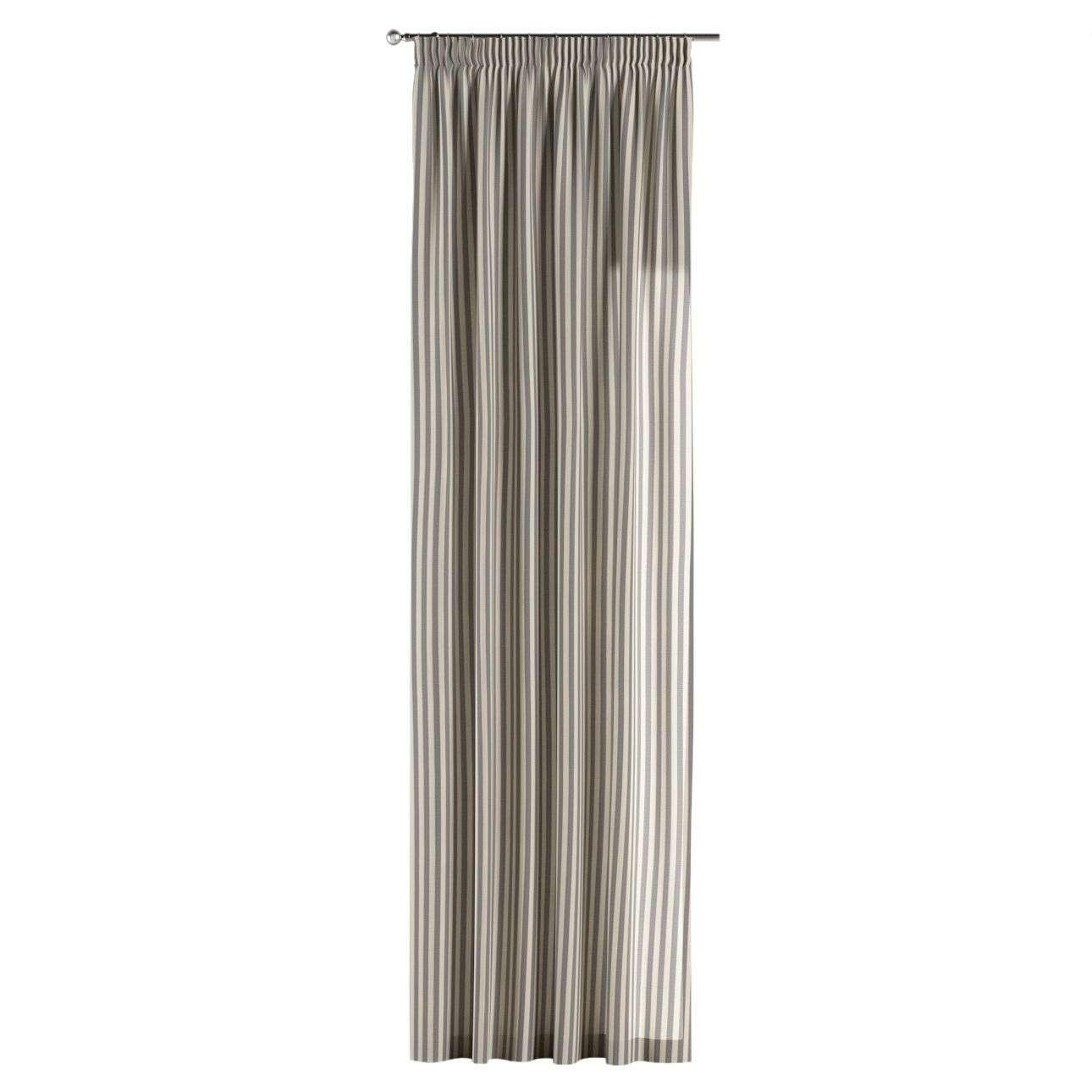 Závěs s řasící páskou 130 x 260 cm v kolekci Quadro, látka: 136-02