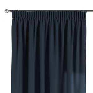 Pencil pleat curtains 130 x 260 cm (51 x 102 inch) in collection Quadro, fabric: 136-04