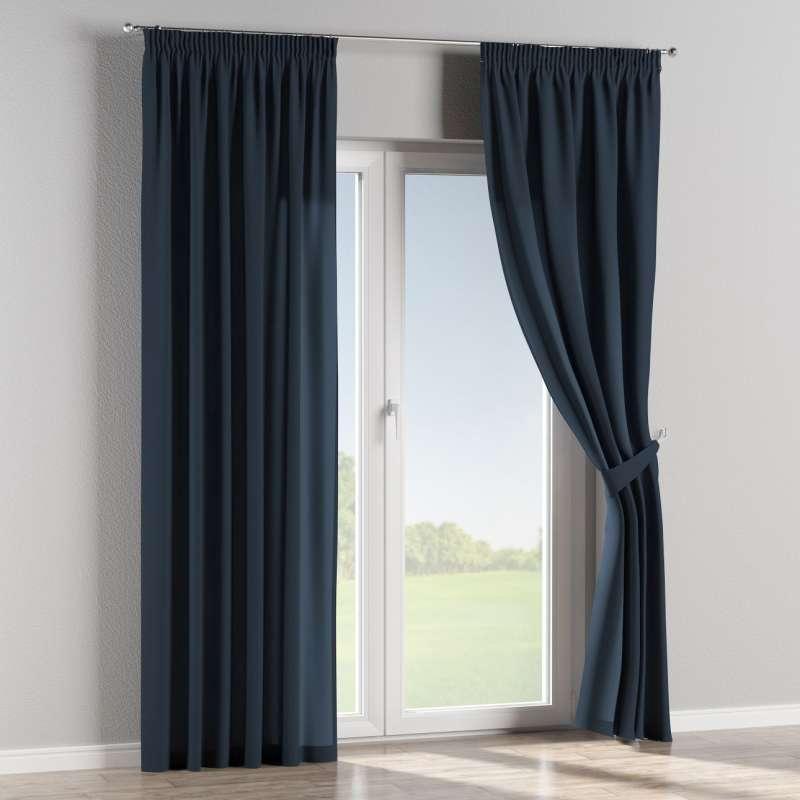 Függöny ráncolóval a kollekcióból Quadro Lakástextil, Dekoranyag: 136-04