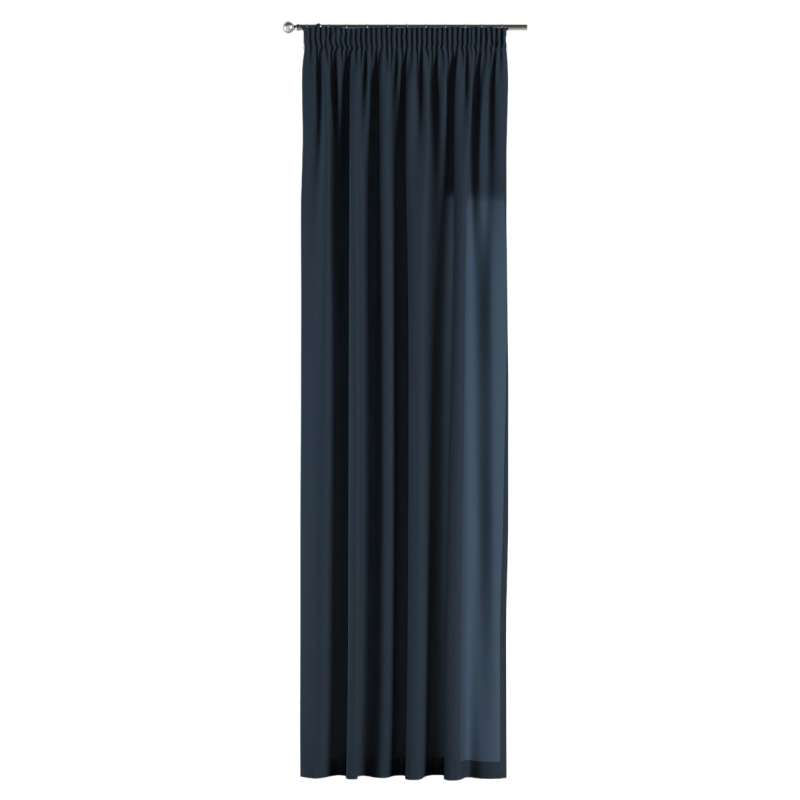 Pencil pleat curtains in collection Quadro, fabric: 136-04
