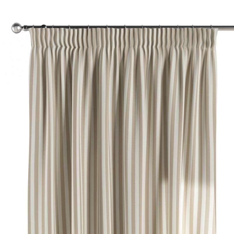 Függöny ráncolóval a kollekcióból Quadro Lakástextil, Dekoranyag: 136-07