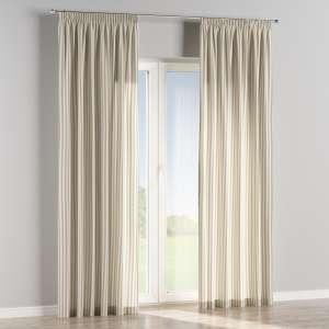 Függöny ráncolóval 130 x 260 cm a kollekcióból Lakástextil Quadro, Dekoranyag: 136-07