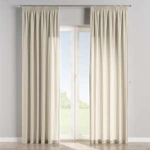 Vorhang mit Kräuselband 130 x 260 cm von der Kollektion Quadro, Stoff: 136-07