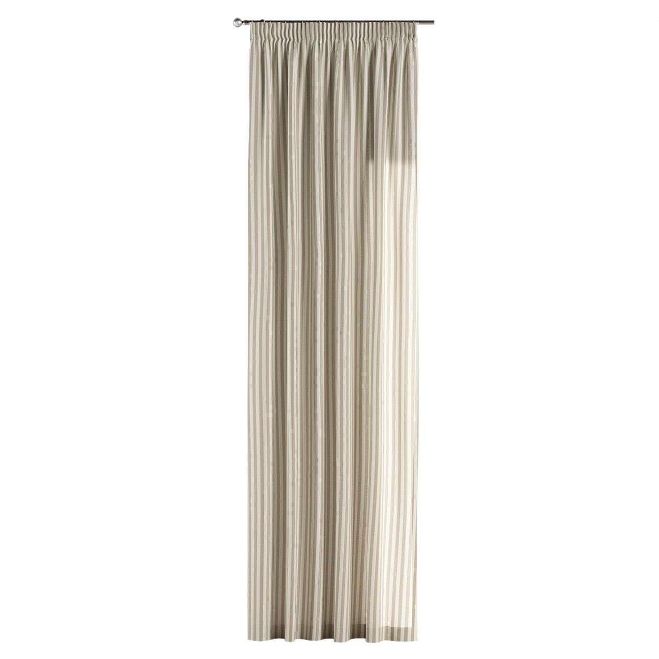 Záves na riasiacej páske V kolekcii Quadro, tkanina: 136-07