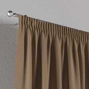 Vorhang mit Kräuselband 1 Stck. 130 x 260 cm von der Kollektion Quadro, Stoff: 136-09