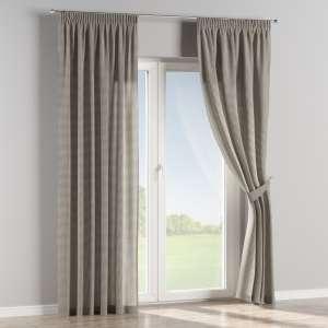 Függöny ráncolóval 130 x 260 cm a kollekcióból Lakástextil Quadro, Dekoranyag: 136-10
