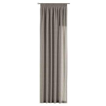 Záves na riasiacej páske 130 x 260 cm V kolekcii Quadro, tkanina: 136-10
