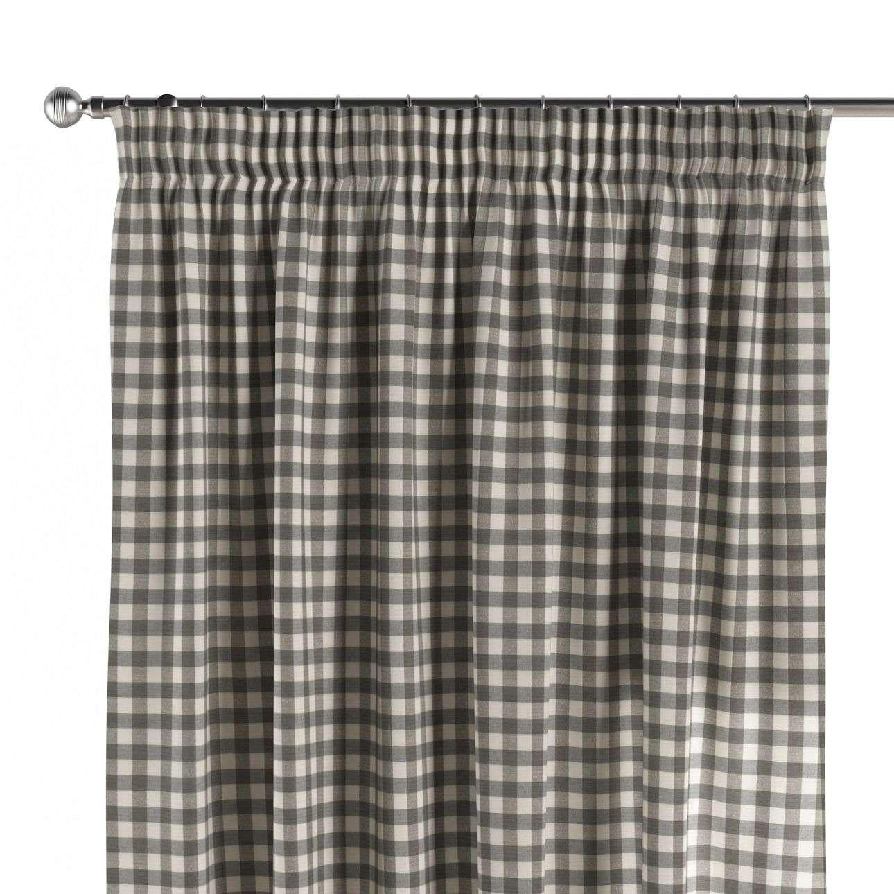 Záves na riasiacej páske V kolekcii Quadro, tkanina: 136-11