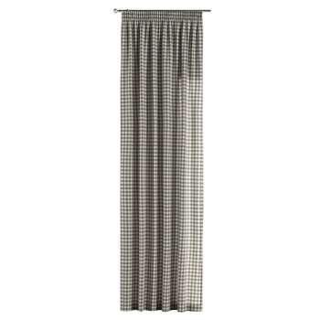 Vorhang mit Kräuselband 1 Stck. 130 x 260 cm von der Kollektion Quadro, Stoff: 136-11