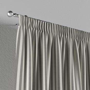 Vorhang mit Kräuselband 1 Stck. 130 x 260 cm von der Kollektion Quadro, Stoff: 136-12