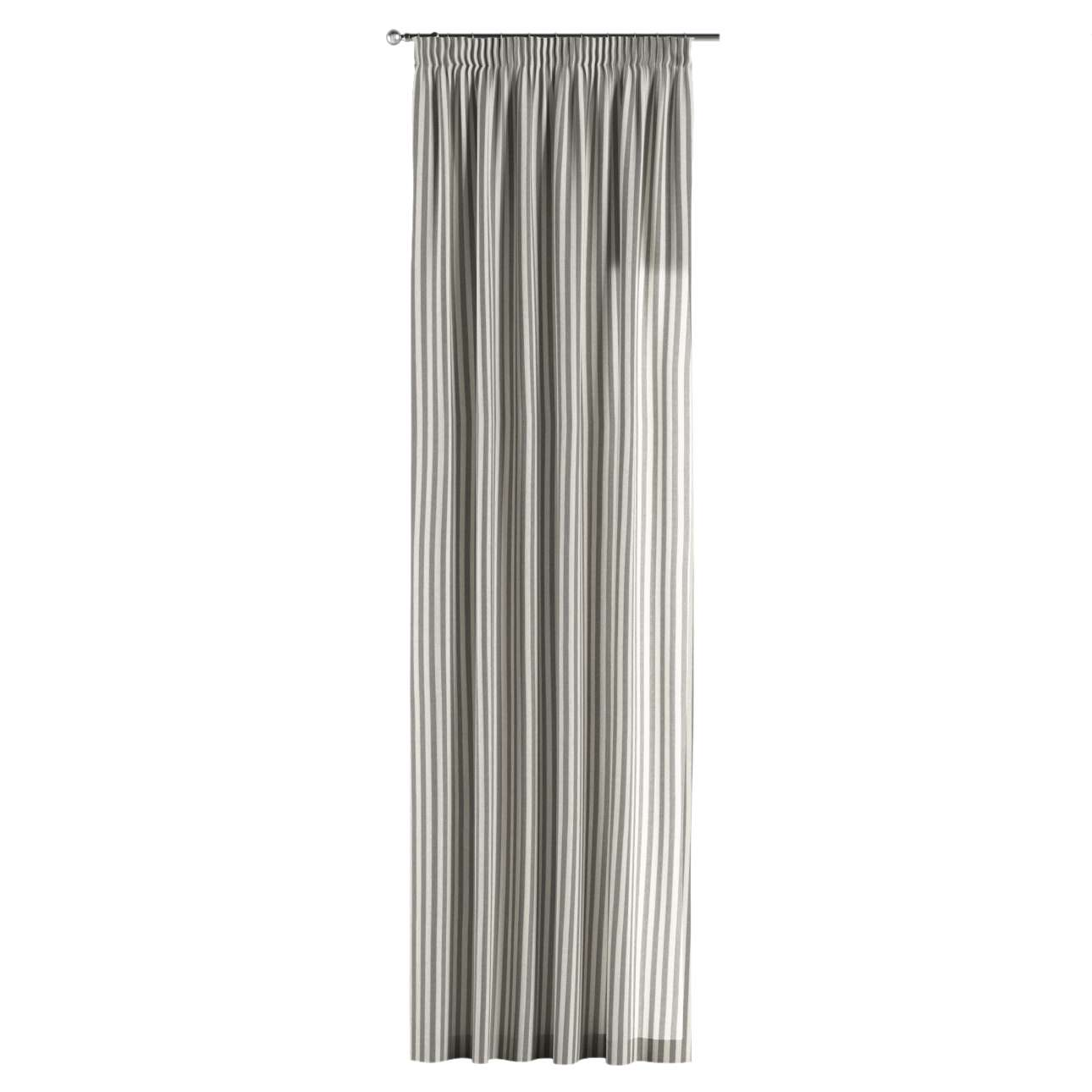 Függöny ráncolóval 130 x 260 cm a kollekcióból Lakástextil Quadro, Dekoranyag: 136-12