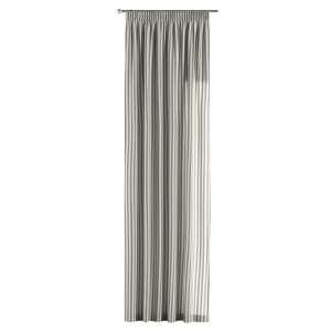Vorhang mit Kräuselband 130 x 260 cm von der Kollektion Quadro, Stoff: 136-12