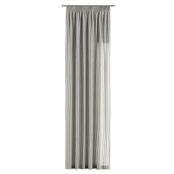 Zasłona na taśmie marszczącej 1 szt. 1szt 130x260 cm w kolekcji Quadro, tkanina: 136-12