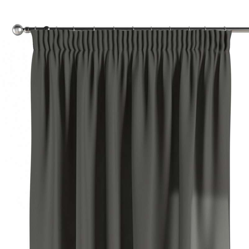 Függöny ráncolóval a kollekcióból Quadro Lakástextil, Dekoranyag: 136-14
