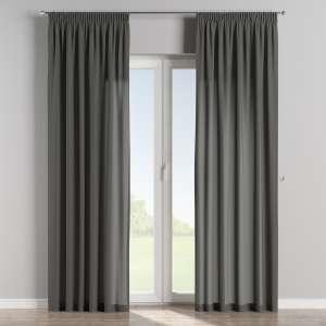Függöny ráncolóval 130 x 260 cm a kollekcióból Lakástextil Quadro, Dekoranyag: 136-14