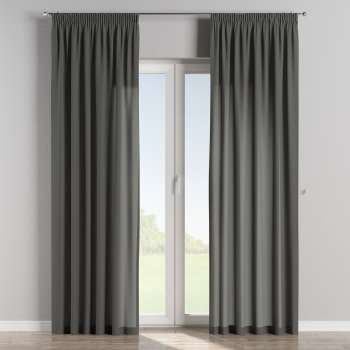 Pencil pleat curtains 130 × 260 cm (51 × 102 inch) in collection Quadro, fabric: 136-14