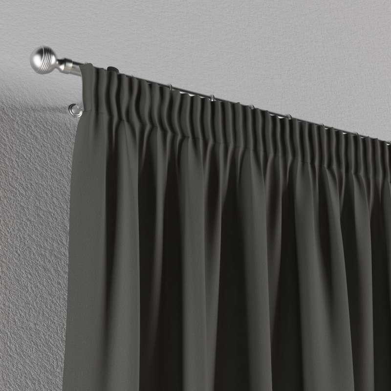 Vorhang mit Kräuselband von der Kollektion Quadro, Stoff: 136-14