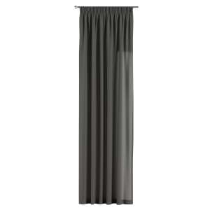 Pencil pleat curtains 130 x 260 cm (51 x 102 inch) in collection Quadro, fabric: 136-14