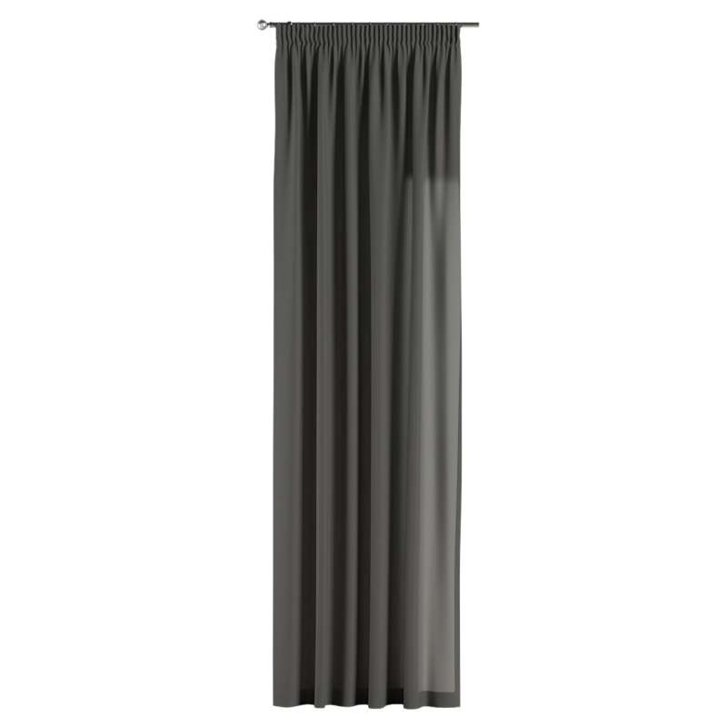 Pencil pleat curtains in collection Quadro, fabric: 136-14