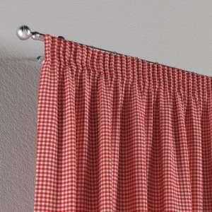 Vorhang mit Kräuselband 130 x 260 cm von der Kollektion Quadro, Stoff: 136-15