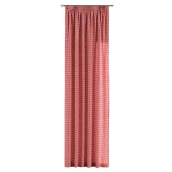 Záves na riasiacej páske 130 x 260 cm V kolekcii Quadro, tkanina: 136-15