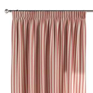 Zasłona na taśmie marszczącej 1 szt. 1szt 130x260 cm w kolekcji Quadro, tkanina: 136-17