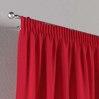 Vorhang mit Kräuselband von der Kollektion Quadro, Stoff: 136-19