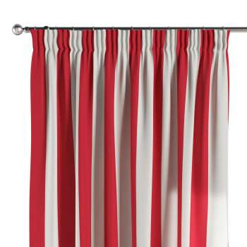 Pencil pleat curtains 130 x 260 cm (51 x 102 inch) in collection Comics/Geometrical, fabric: 137-54