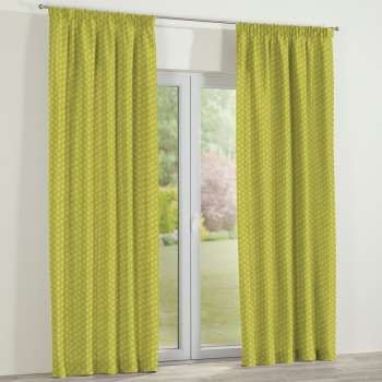 Pencil pleat curtains 130 x 260 cm (51 x 102 inch) in collection SALE, fabric: 137-58