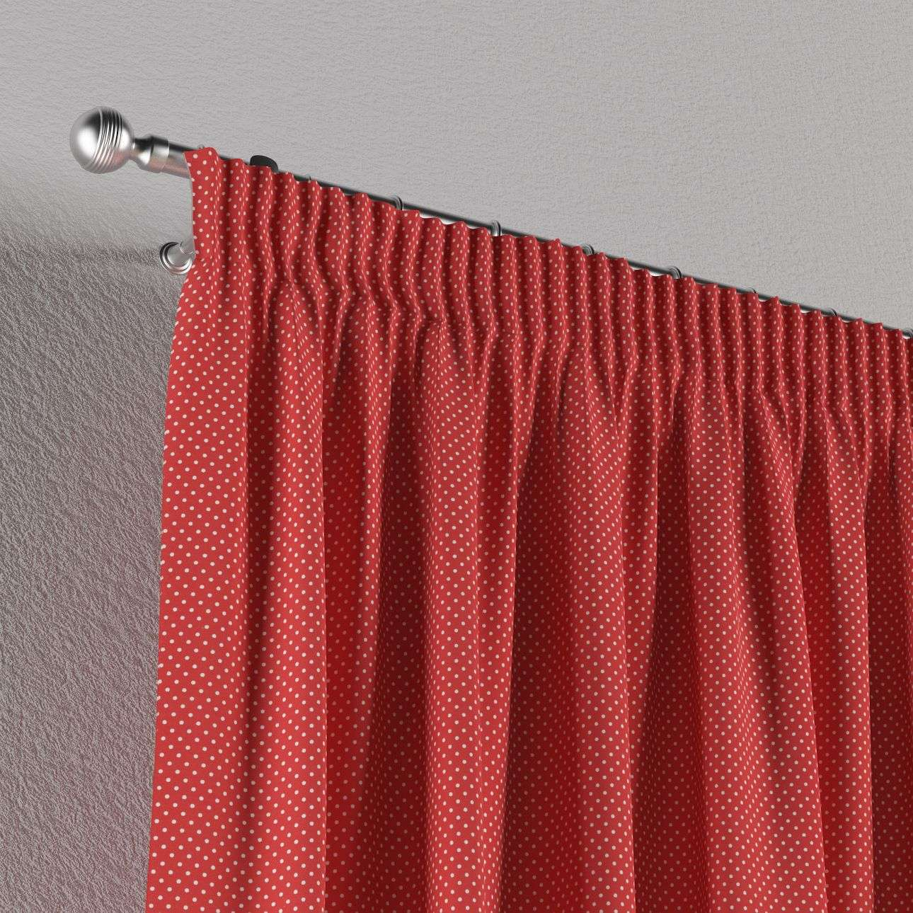 Pencil pleat curtains 130 x 260 cm (51 x 102 inch) in collection Ashley, fabric: 137-50