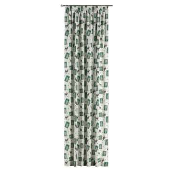 Pencil pleat curtains in collection Christmas, fabric: 630-13