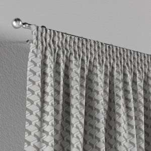 Pencil pleat curtains 130 x 260 cm (51 x 102 inch) in collection Rustica, fabric: 138-18
