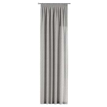 Pencil pleat curtains 130 × 260 cm (51 × 102 inch) in collection Rustica, fabric: 138-18