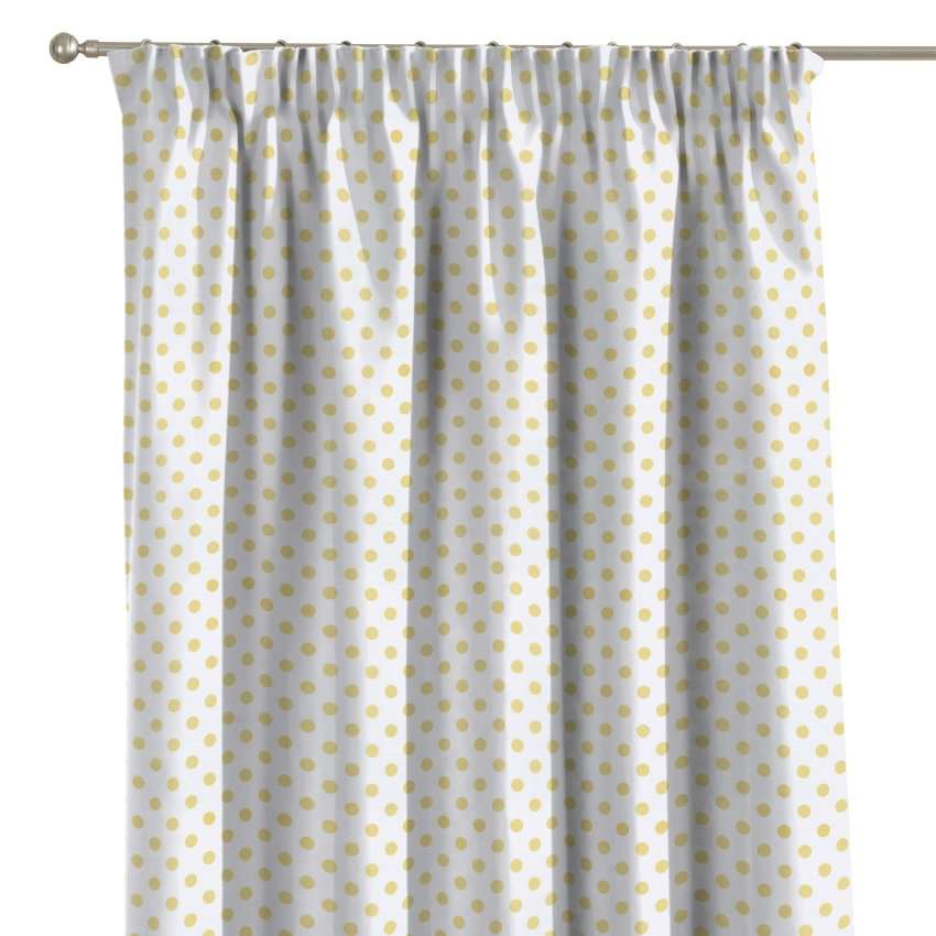 Pencil pleat curtains in collection Ashley, fabric: 137-65