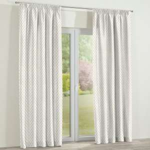 Pencil pleat curtains 130 x 260 cm (51 x 102 inch) in collection Ashley, fabric: 137-65